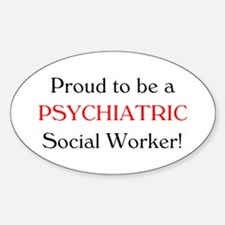 Proud Psych SW Oval Decal