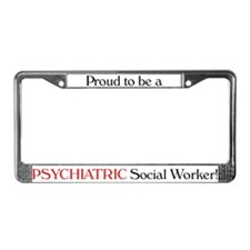 Proud Psych SW License Plate Frame