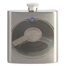 Audio tape reel Flask
