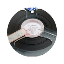 Audio tape reel Round Ornament