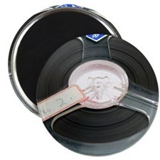 Audio tape reel Magnet