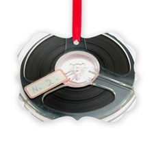 Audio tape reel Ornament