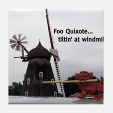 Quixote Foo Tile Coaster