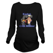 Grill Master Kaden Long Sleeve Maternity T-Shirt