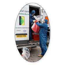 Asbestos removal Decal