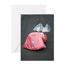 Asbestos removal Greeting Card
