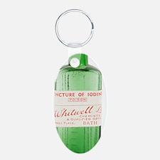Antique pharmacy bottle Keychains