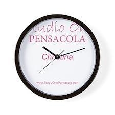 Official Studio One Pensacola Model Bag Wall Clock