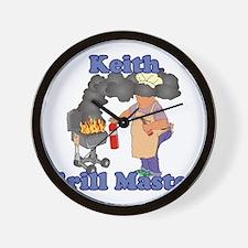 Grill Master Keith Wall Clock