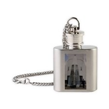 Ariane 1 first stage Flask Necklace