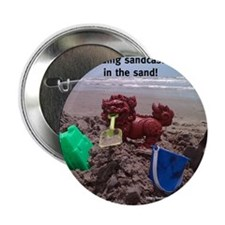 "Sandcastle Foo 2.25"" Button"