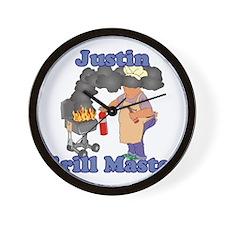 Grill Master Justin Wall Clock