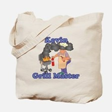 Grill Master Kevin Tote Bag
