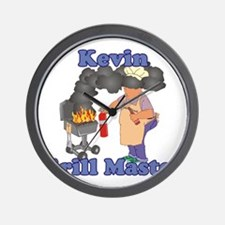 Grill Master Kevin Wall Clock