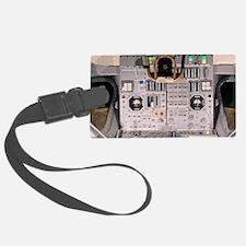 Apollo Lunar Module interior Luggage Tag