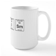 Atheism Element Symbols Mug