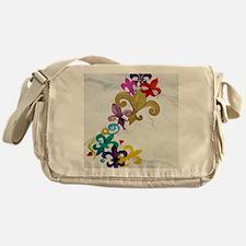 Fleur de lis party Messenger Bag