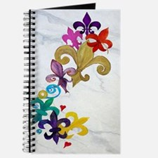 Fleur de lis party Journal
