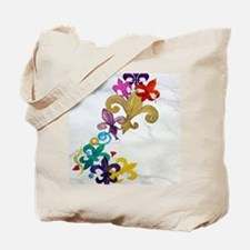 Fleur de lis party Tote Bag