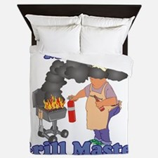 Grill Master Melvin Queen Duvet