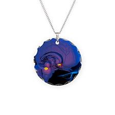 Amygdala in the brain, artwo Necklace