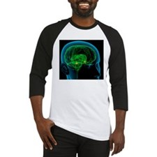 Amygdala in the brain, artwork Baseball Jersey