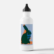 Animal testing, concep Water Bottle