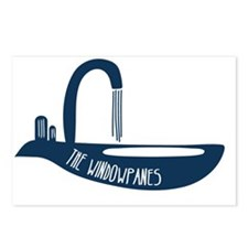 Sink Shirt Blue Postcards (Package of 8)