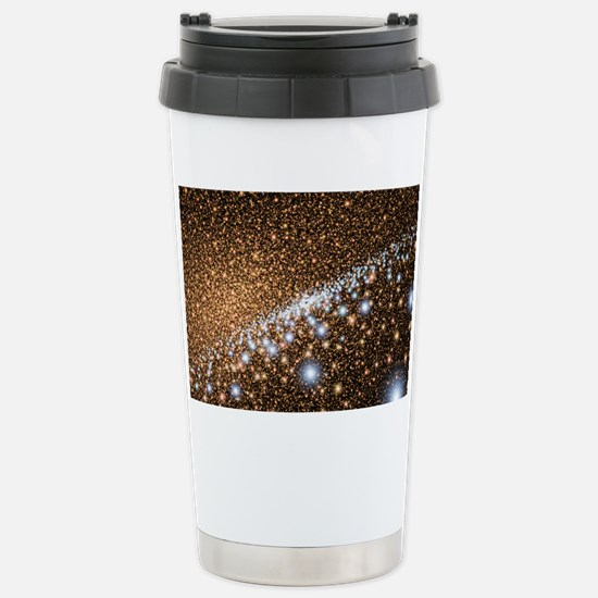 Andromeda Galaxy core stars, ar Stainless Steel Tr