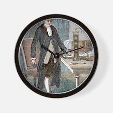Alessandro Volta, Italian physicist Wall Clock