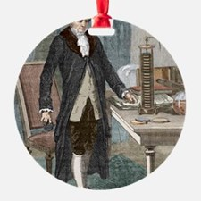 Alessandro Volta, Italian physicist Ornament
