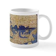 Al-Idrisi's world map, 1154 Small Mug