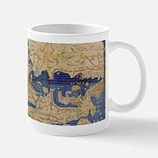 Al-Idrisi's world map, 1154 Small Small Mug
