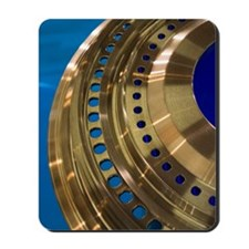 Aircraft engine component Mousepad