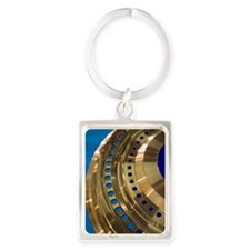 Aircraft engine component Portrait Keychain