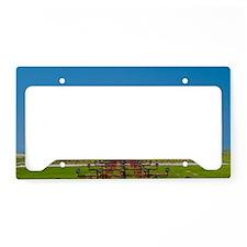 Aeroplane landing, Canada License Plate Holder