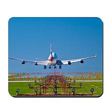 Aeroplane landing, Canada Mousepad