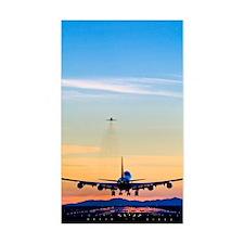Aeroplane landing, Canada Decal
