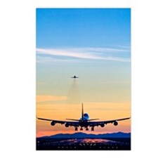 Aeroplane landing, Canada Postcards (Package of 8)