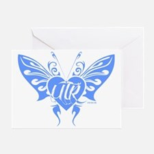 UTR - Butterfly Beauty (Periwinkle) Greeting Card