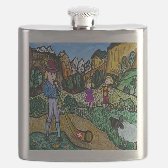 Alpen Dance Flask