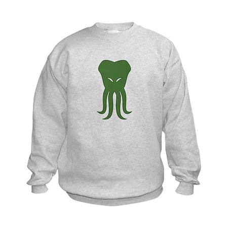 Cthulhu Head Kids Sweatshirt
