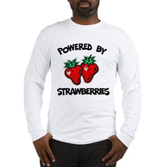 Powered By Strawberries Long Sleeve T-Shirt