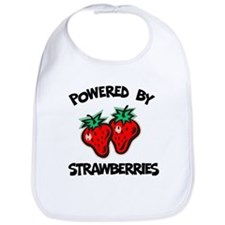 Powered By Strawberries Bib