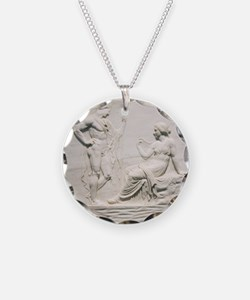 Achilles consulting Pythia,  Necklace