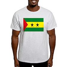 Sao Tome Principe Flag T-Shirt