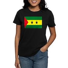 Sao Tome Principe Flag Tee