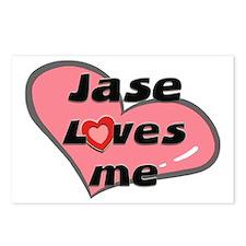 jase loves me  Postcards (Package of 8)