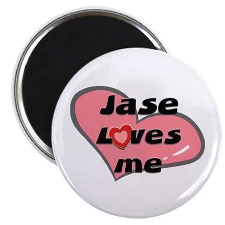 jase loves me Magnet