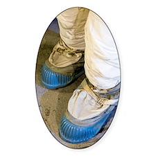 Apollo astronaut moon boots Decal